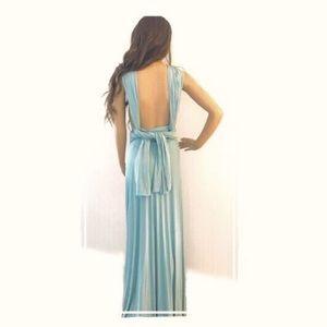 Lulu's Dresses - Lulu's Convertible Wrap Maxi Dress (S)
